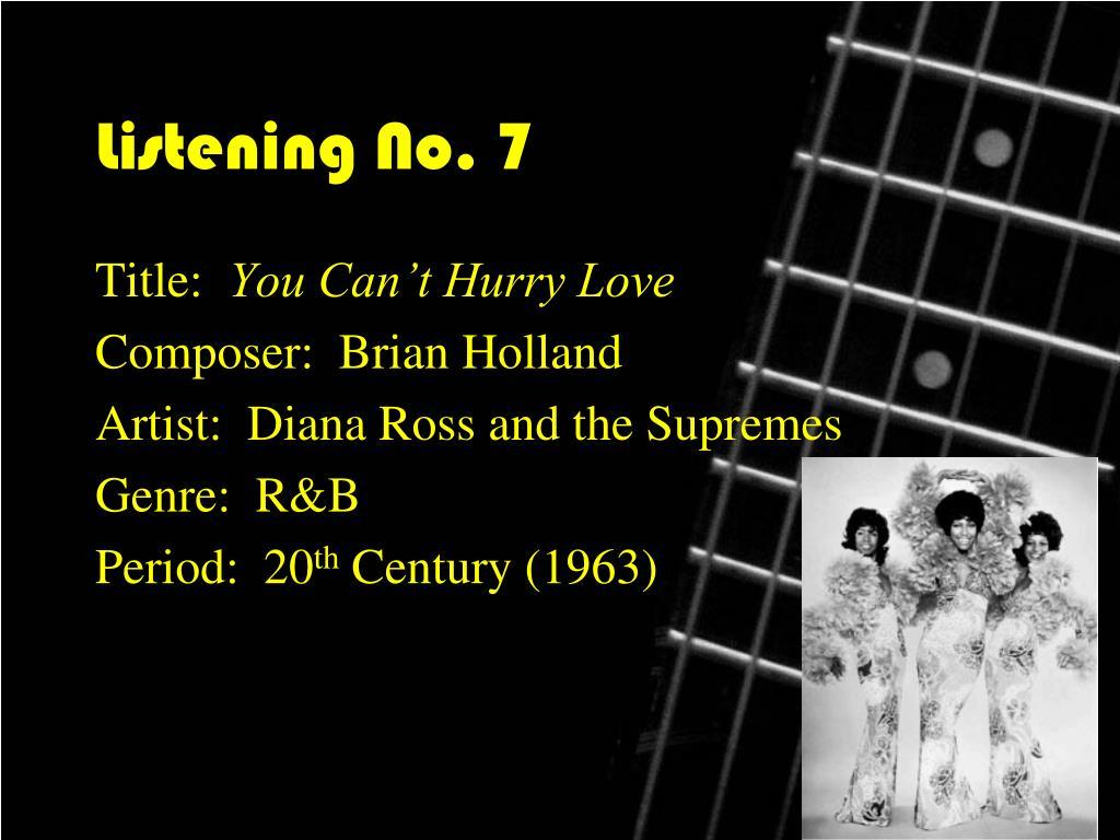 Listening No. 7