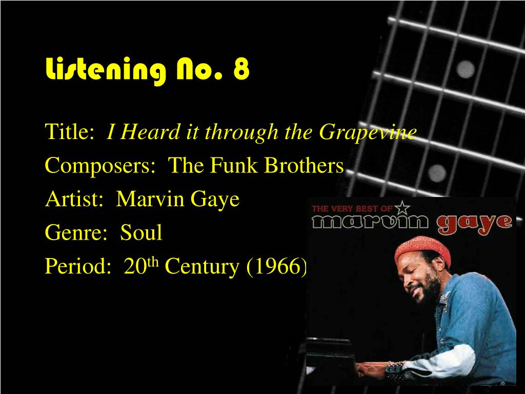 Listening No. 8