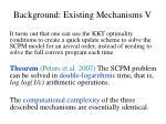background existing mechanisms v