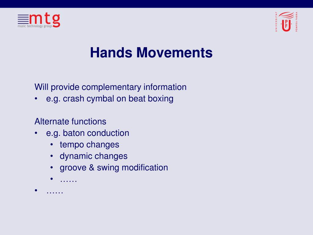Hands Movements