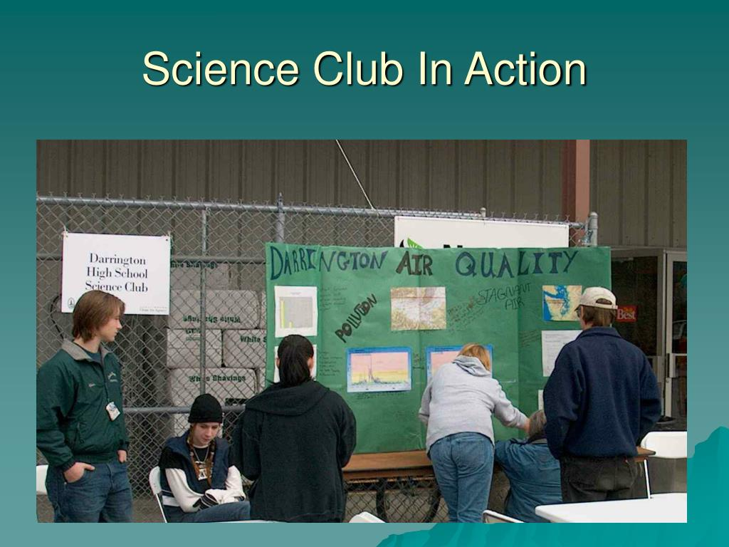 Science Club In Action