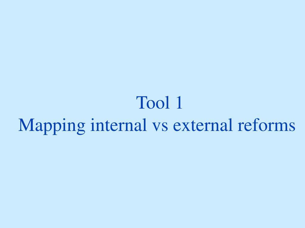 Tool 1
