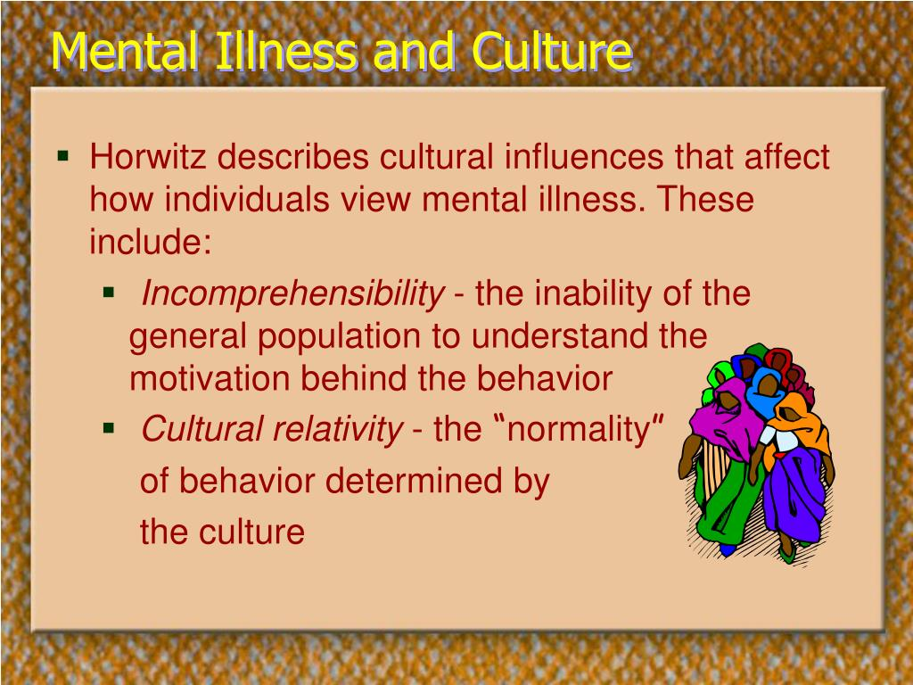 Mental Illness and Culture