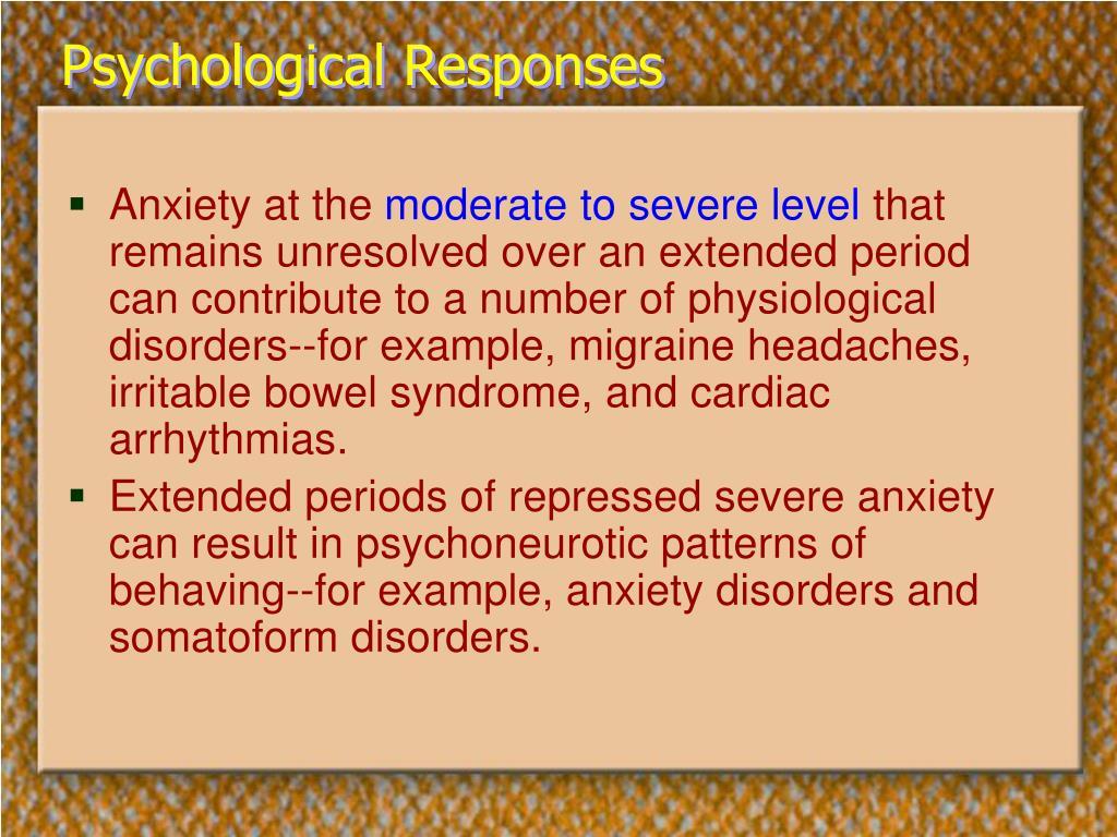 Psychological Responses