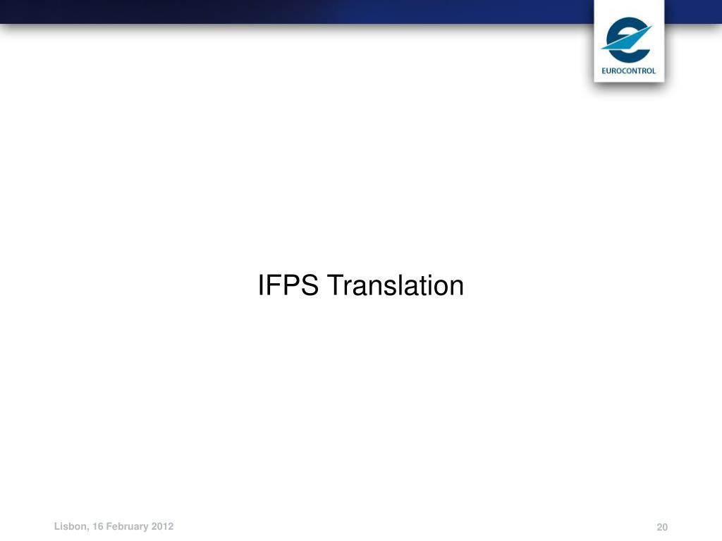 IFPS Translation