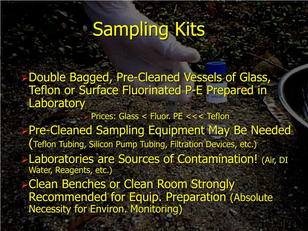 Sampling Kits