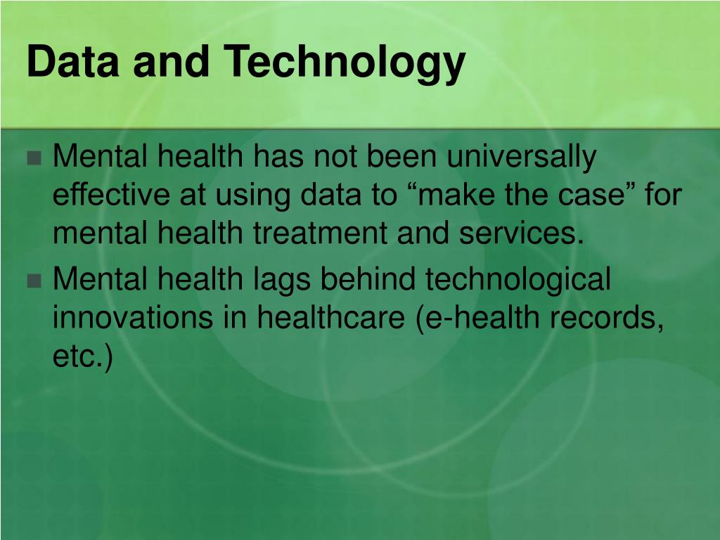 Data and Technology