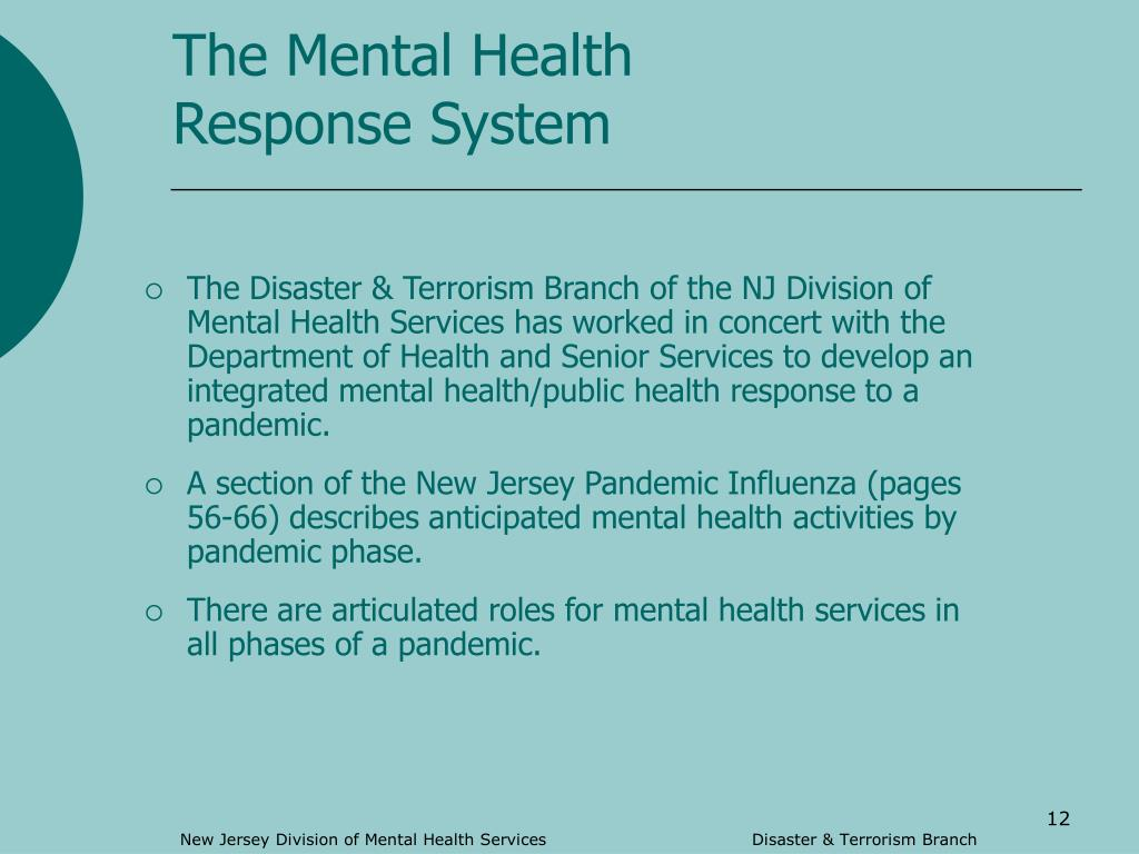The Mental Health Response System