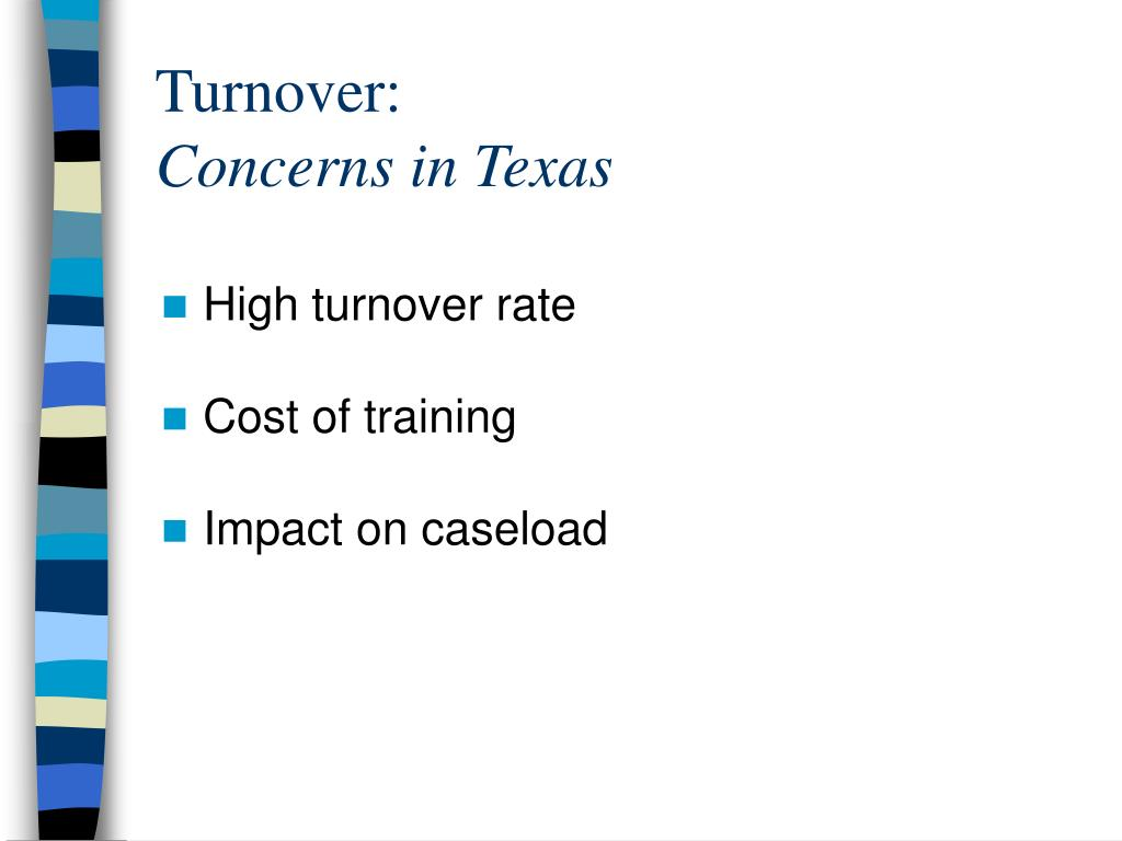 Turnover: