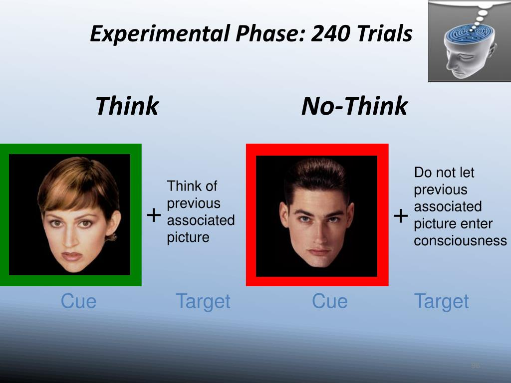 Experimental Phase: 240 Trials