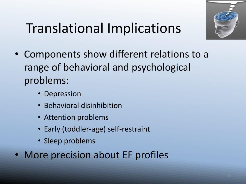 Translational Implications