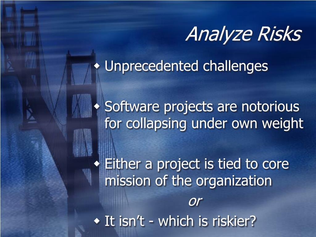 Analyze Risks