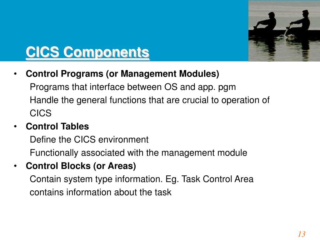 CICS Components