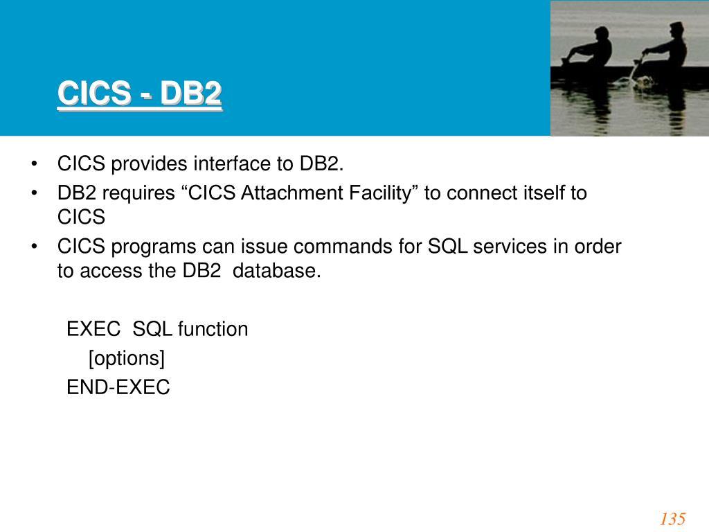 CICS - DB2