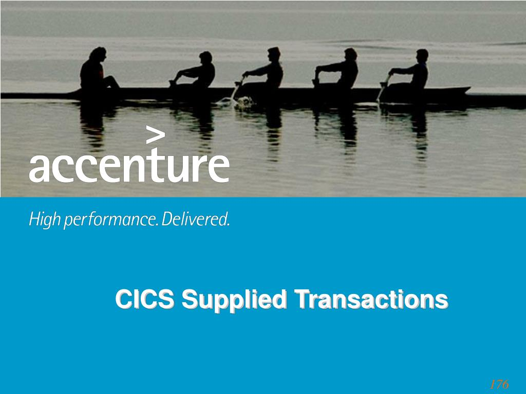 CICS Supplied Transactions