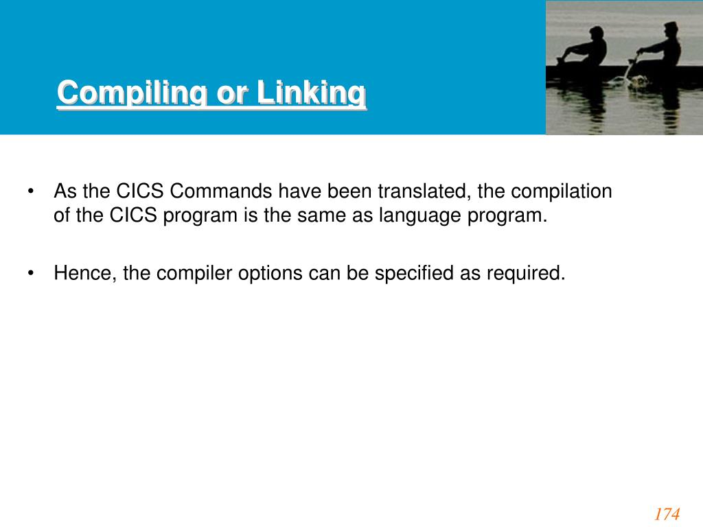Compiling or Linking
