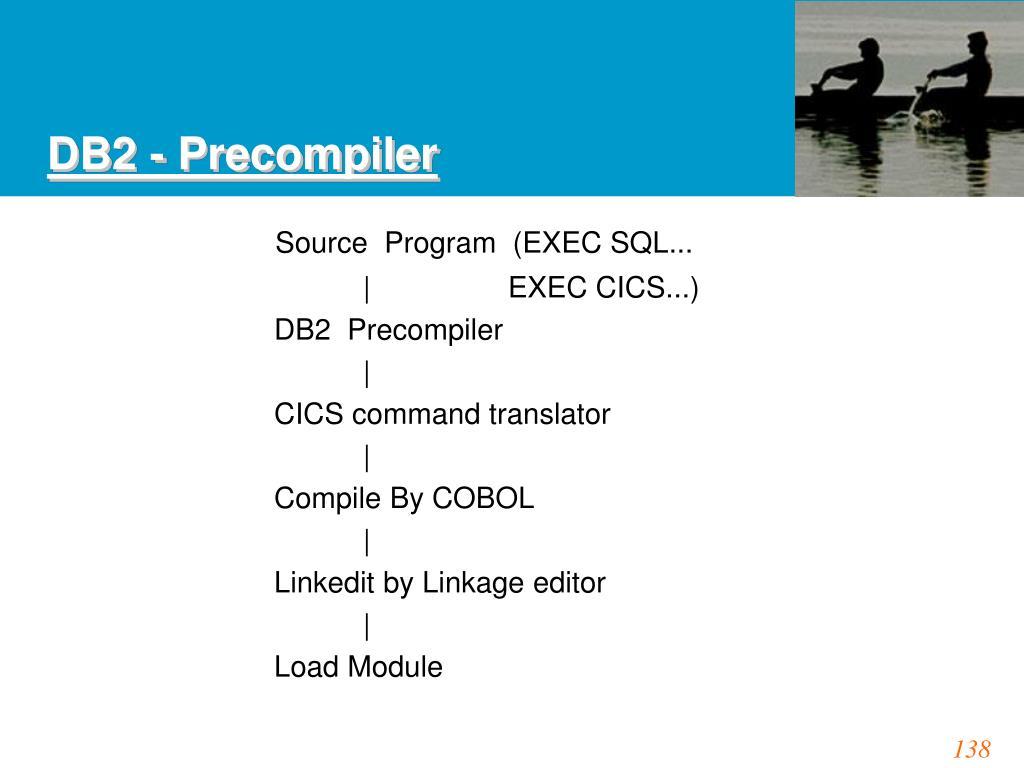 DB2 - Precompiler