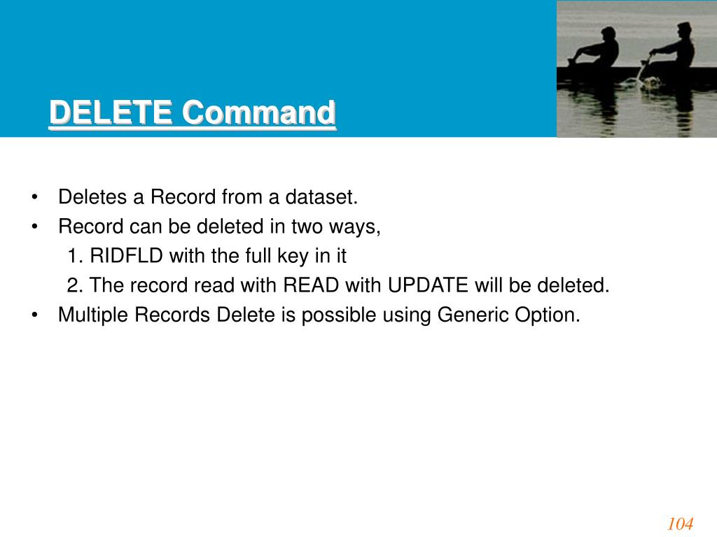 DELETE Command