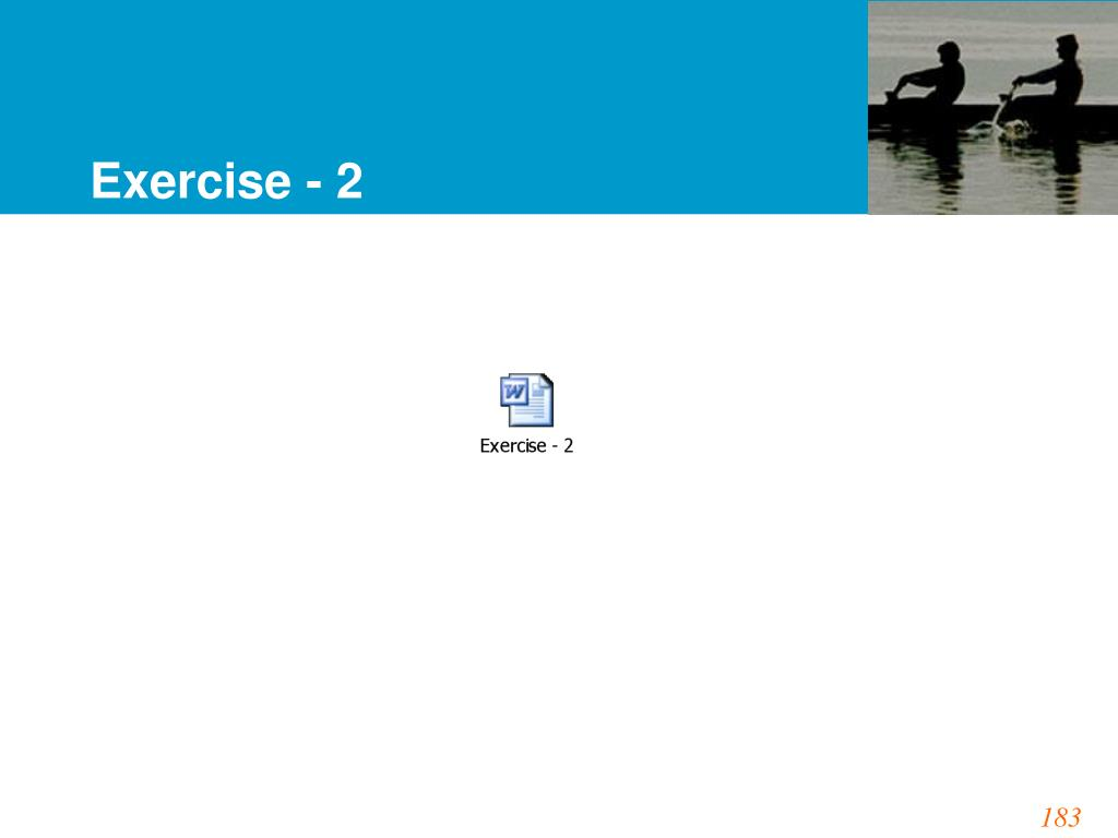 Exercise - 2