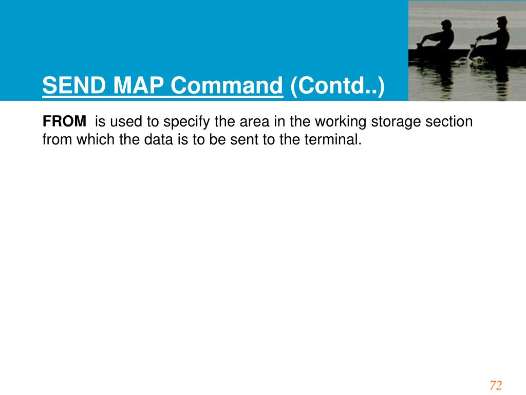 SEND MAP Command