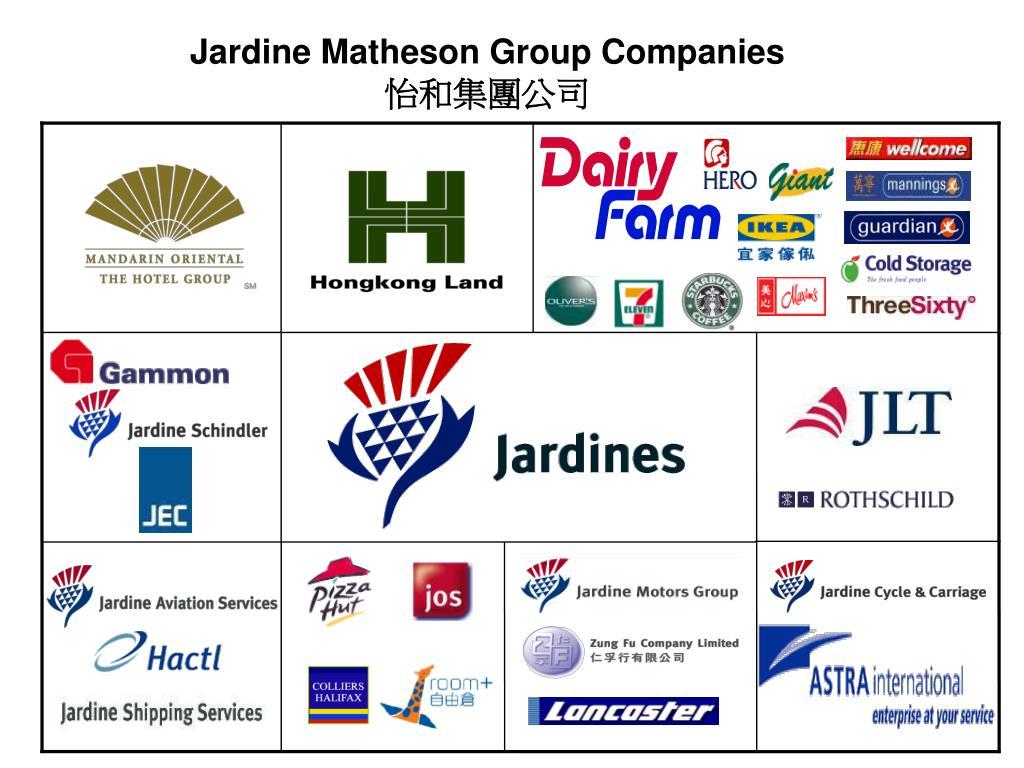 Jardine Matheson Group Companies