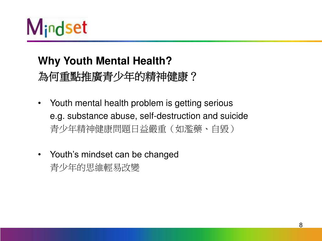 Why Youth Mental Health?