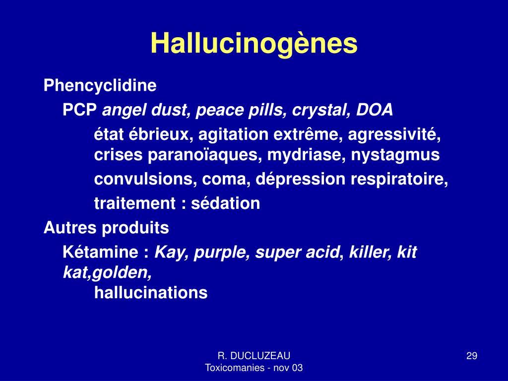 Hallucinogènes