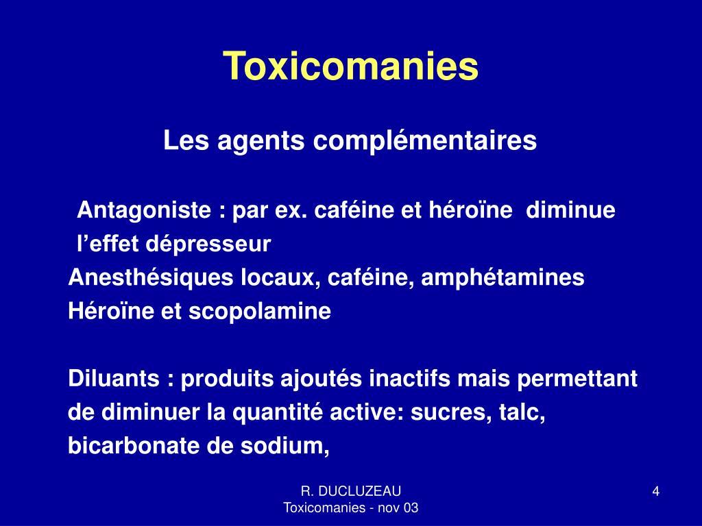 Toxicomanies