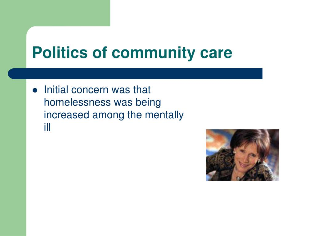 Politics of community care
