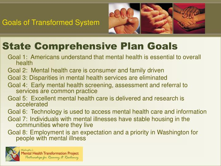 State comprehensive plan goals