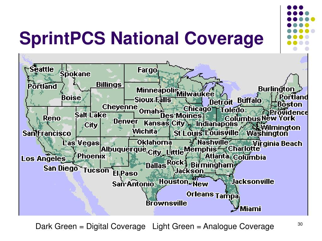 SprintPCS National Coverage