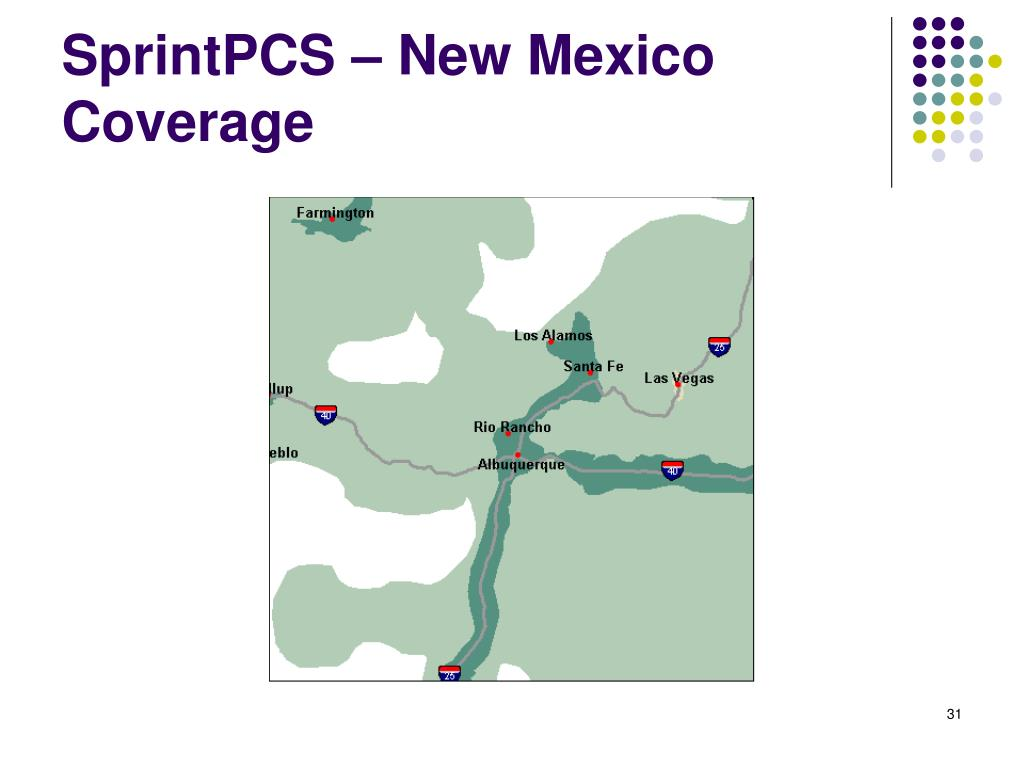 SprintPCS – New Mexico Coverage