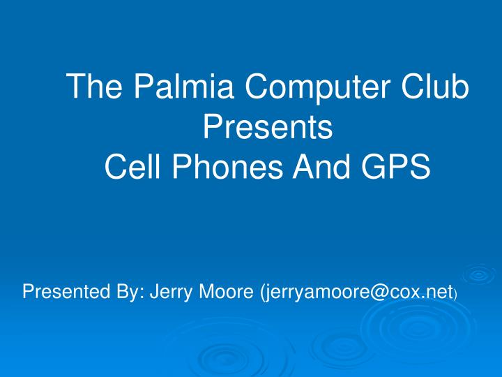 The Palmia Computer Club