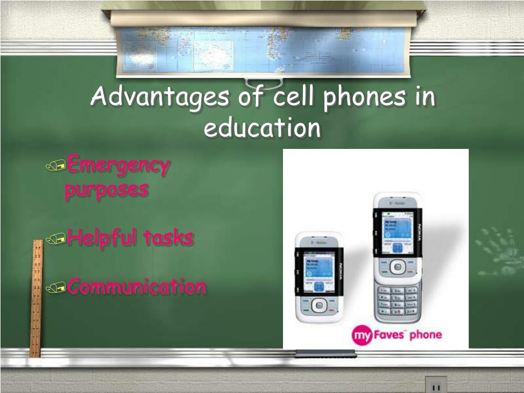 Advantages of cell phones in education