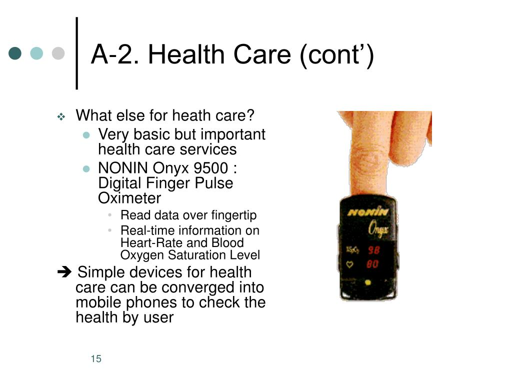A-2. Health Care (cont')