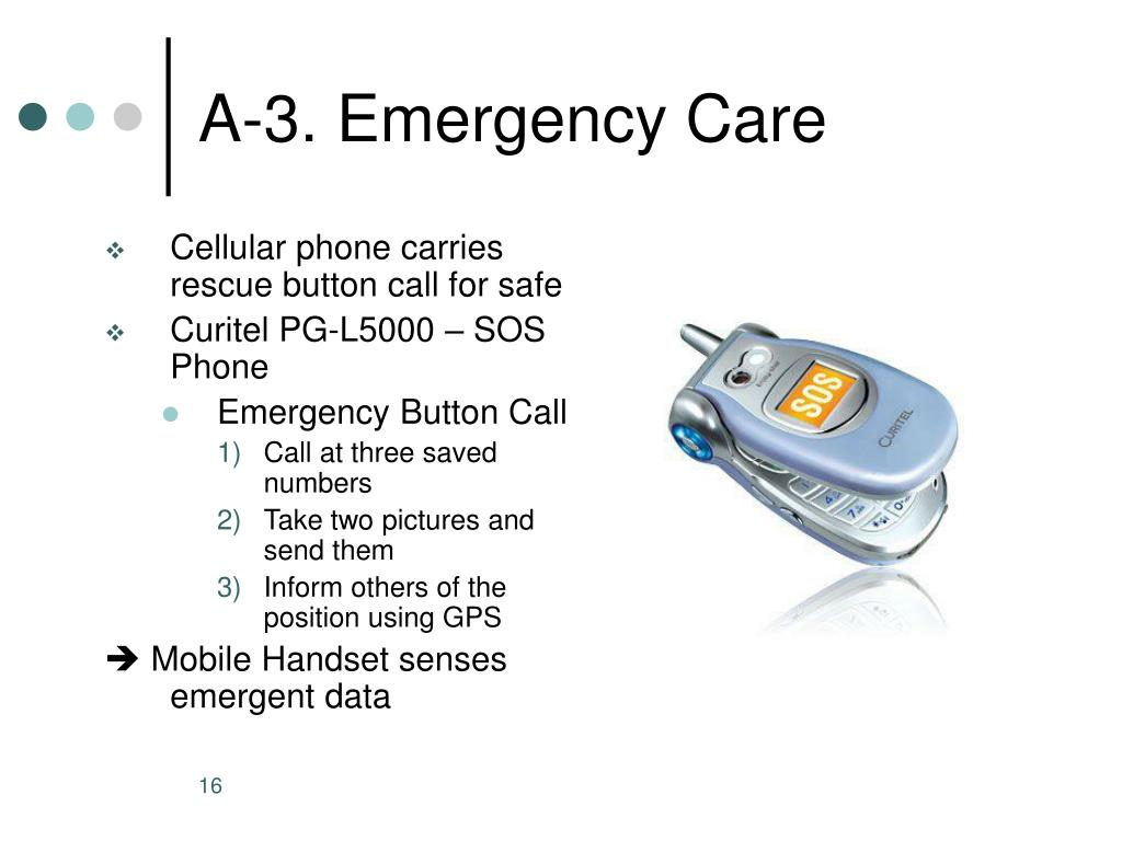 A-3. Emergency Care