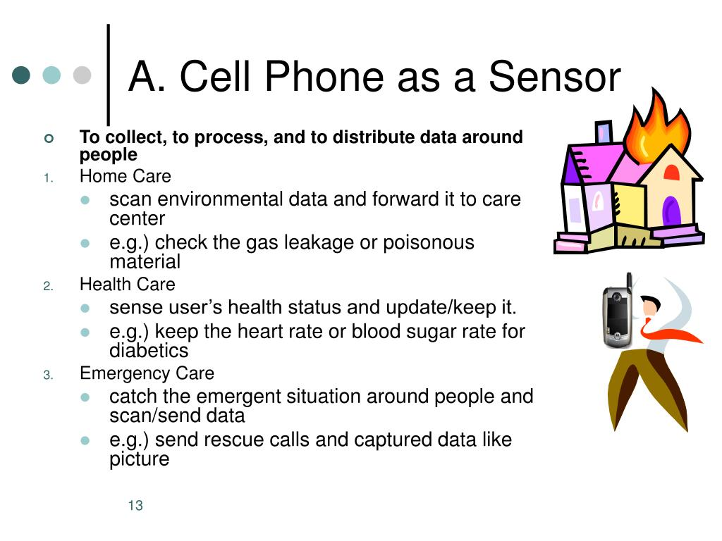 A. Cell Phone as a Sensor