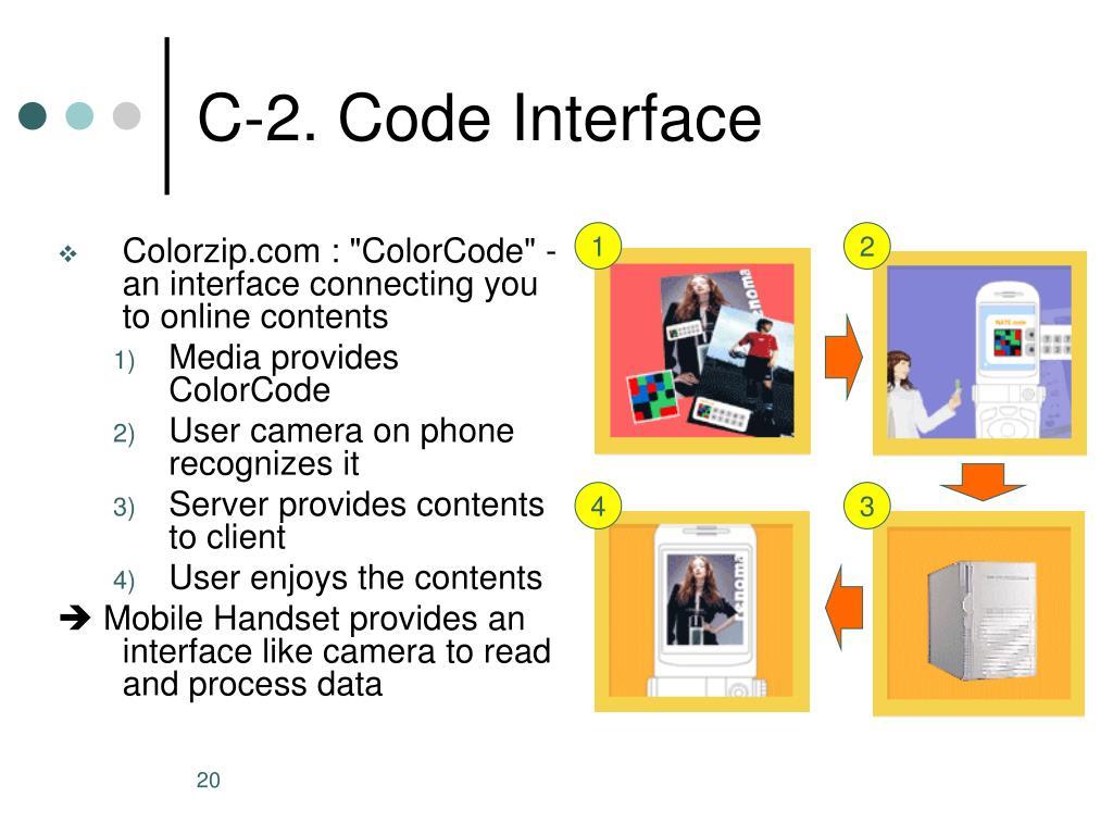 C-2. Code Interface