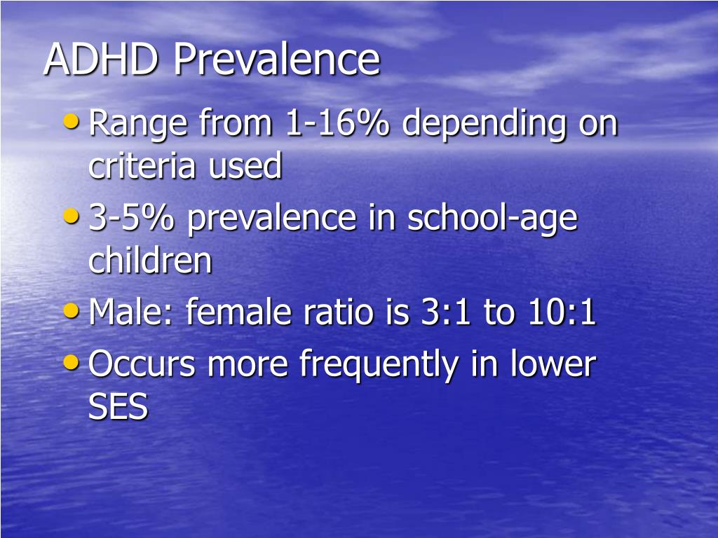 ADHD Prevalence