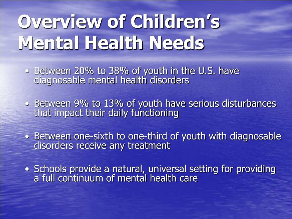 Overview of Children's