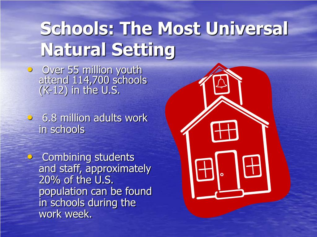 Schools: The Most Universal Natural Setting