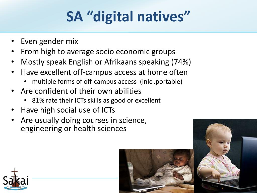 "SA ""digital natives"""