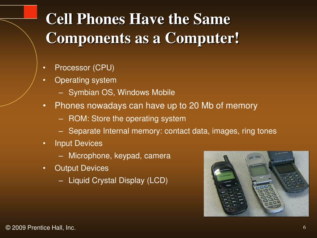 Cell Phones Have the Same