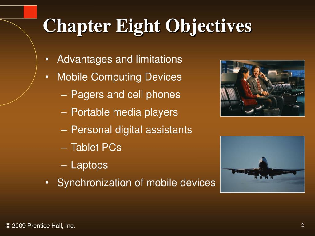 Chapter Eight Objectives