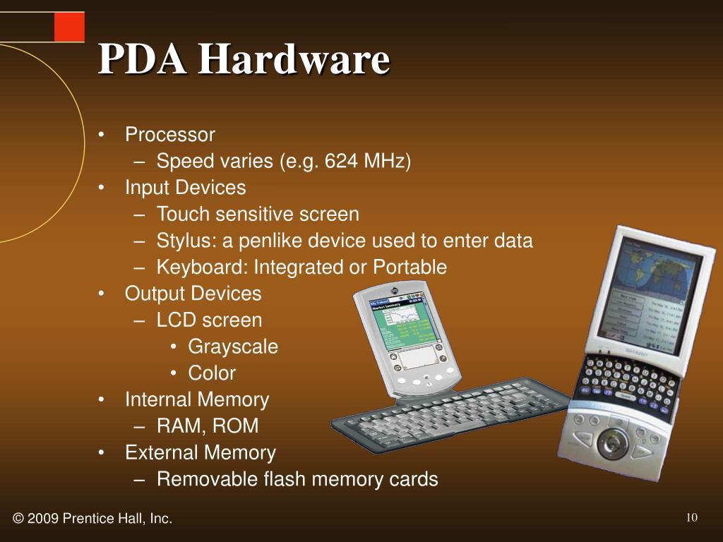 PDA Hardware
