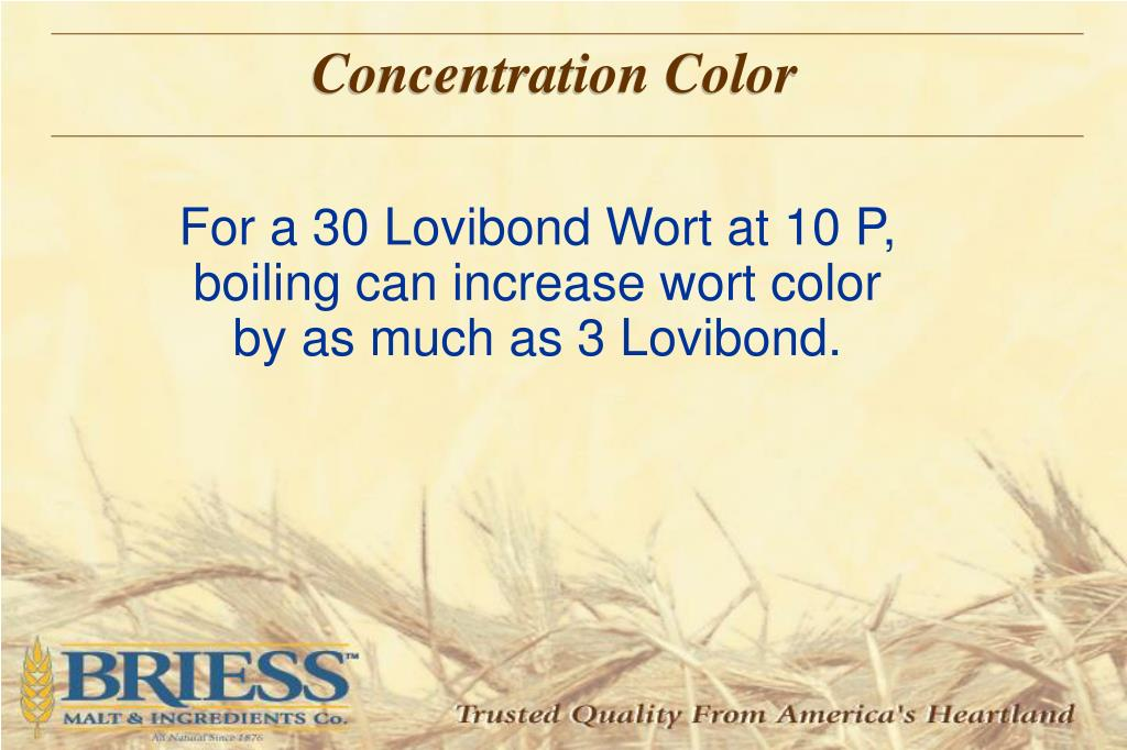 Concentration Color