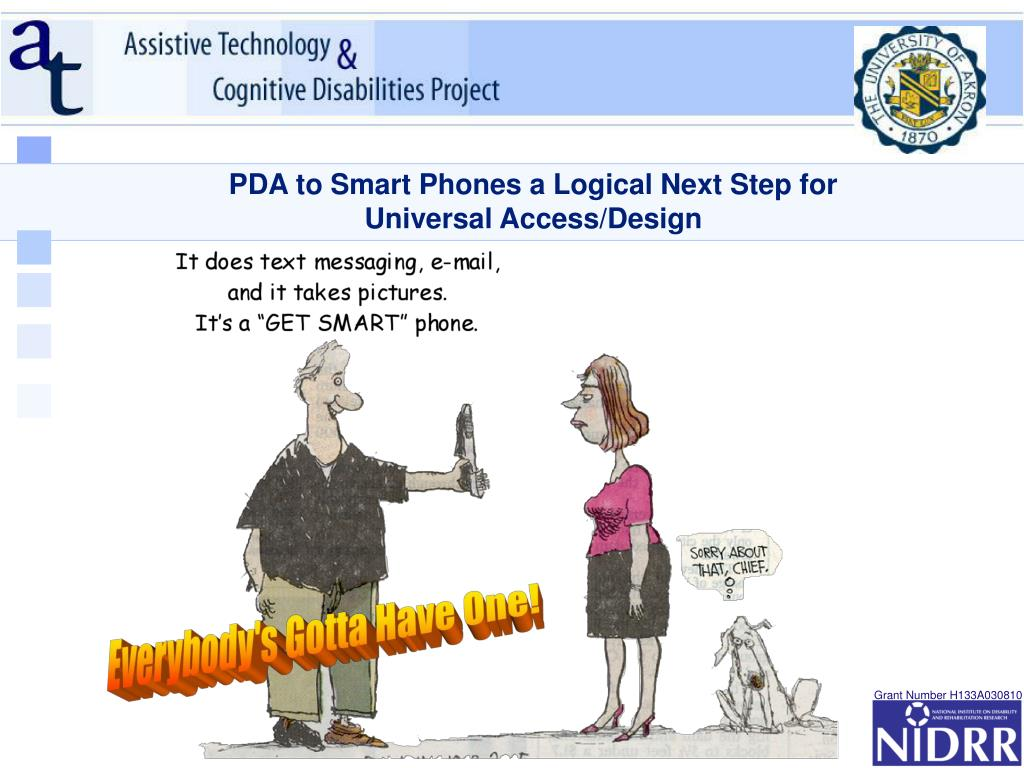 PDA to Smart Phones a Logical Next Step for