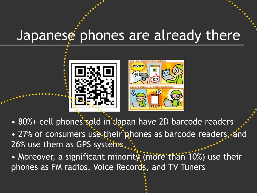 Japanese phones are already there