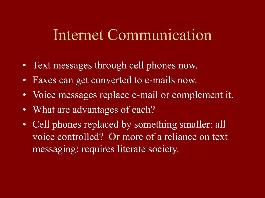 Internet Communication