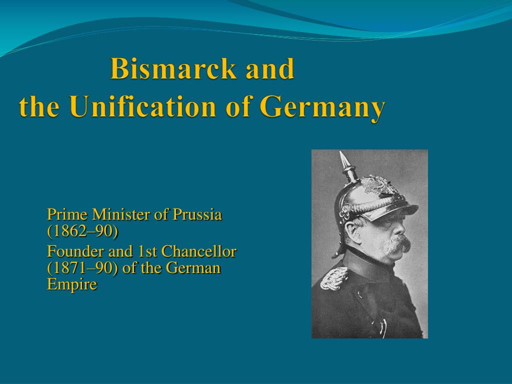 bismarck and the unification of the german states essay This is another essay that bismarck and the unification this was a defensive alliance with the southern german states which bismarck knew.